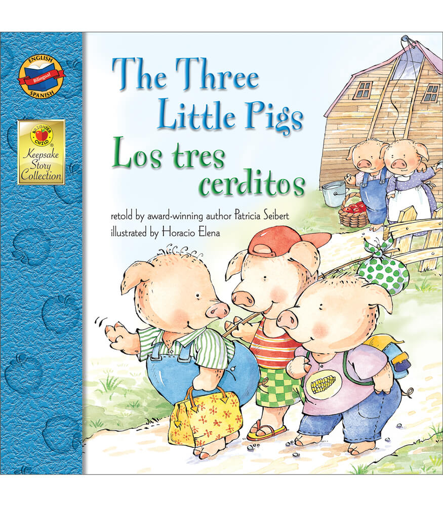The Three Little Pigs Bilingual Storybook
