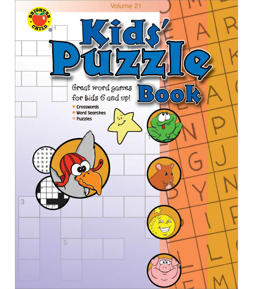 Kids' Puzzle Book Activity Book Product Image