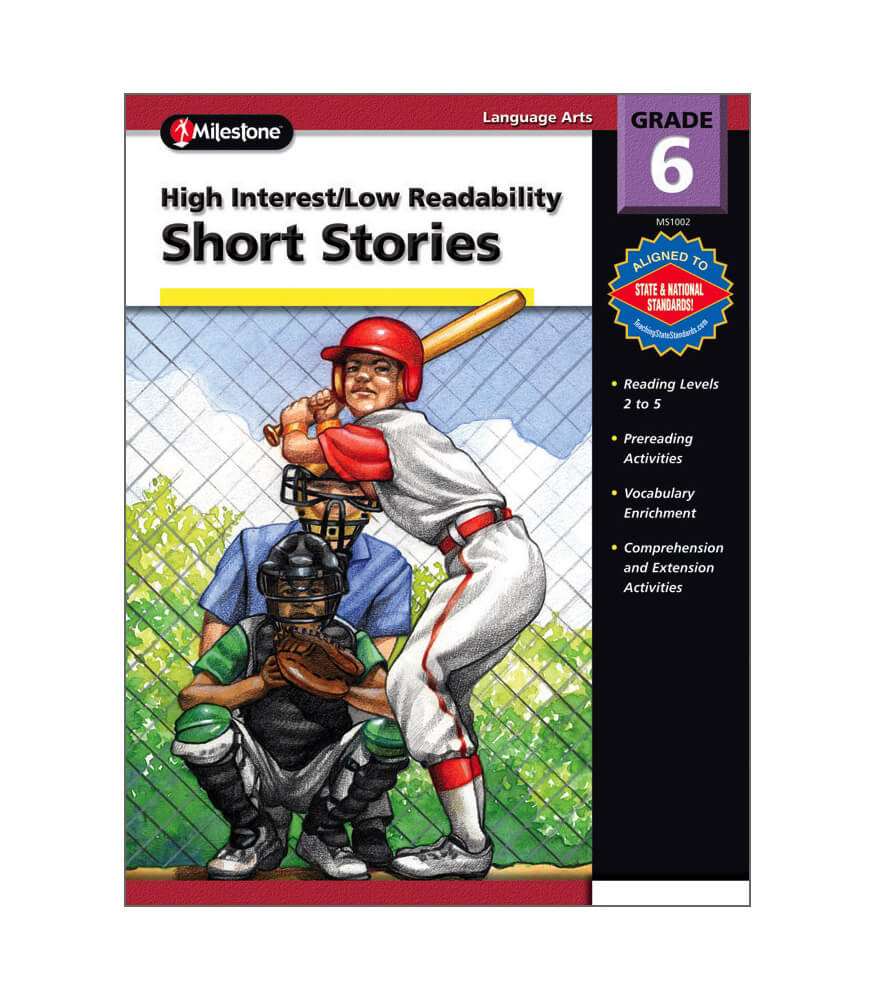 High Interest / Low Readability Short Stories Resource Book Product Image