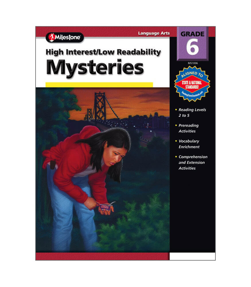 High Interest / Low Readability Mysteries Resource Book Product Image