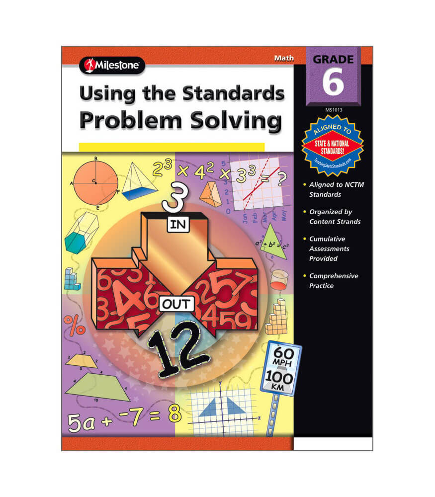 Using the Standards - Problem Solving Resource Book Product Image