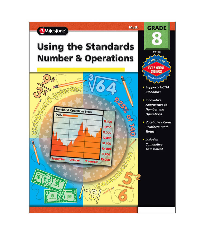 Using the Standards - Number & Operations Resource Book Product Image