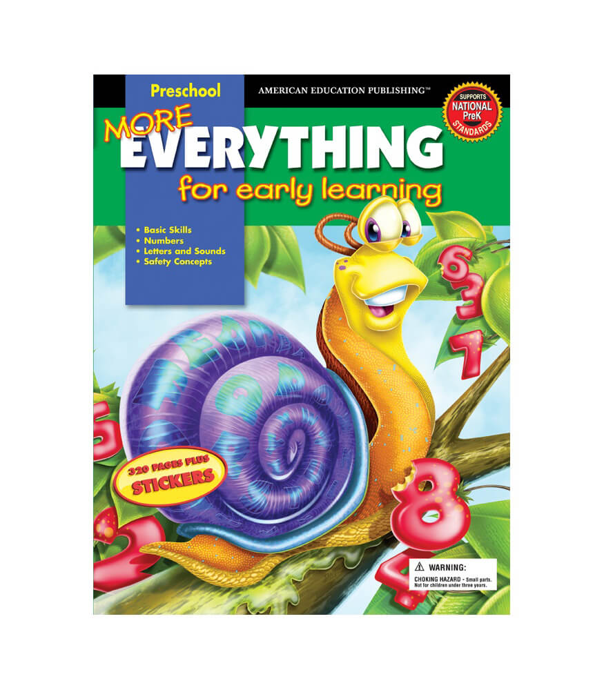 More Everything for Early Learning Workbook Product Image