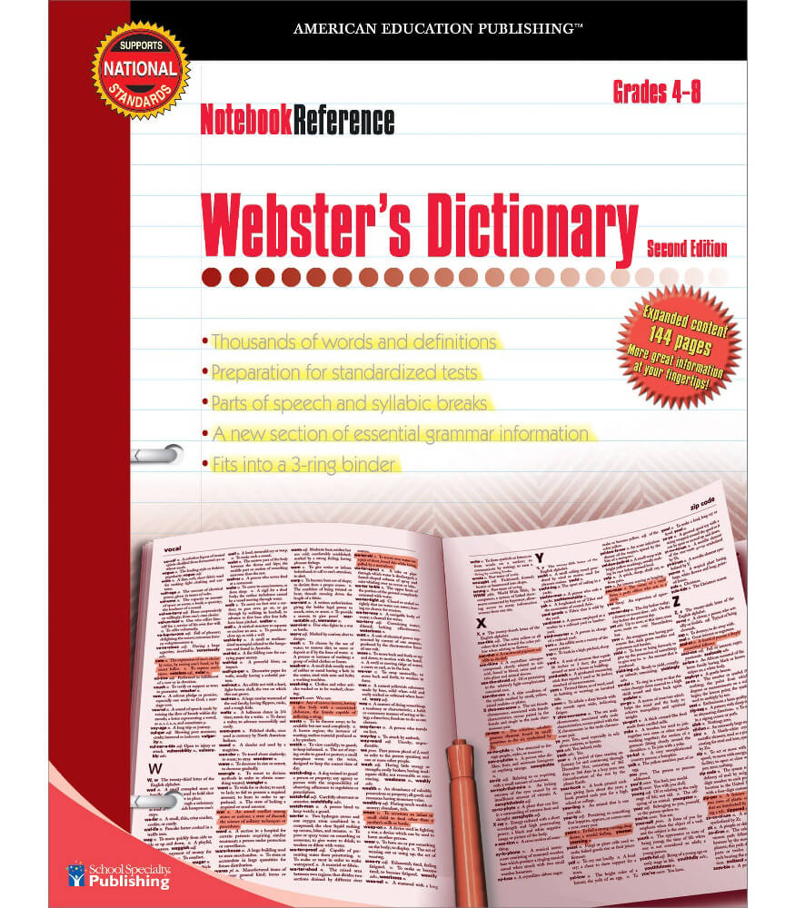 Webster's Dictionary Workbook Product Image