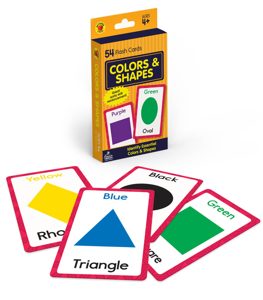Colors and Shapes Flash Cards Product Image