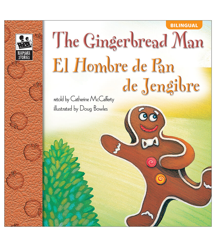 The Gingerbread Man Bilingual Storybook Product Image