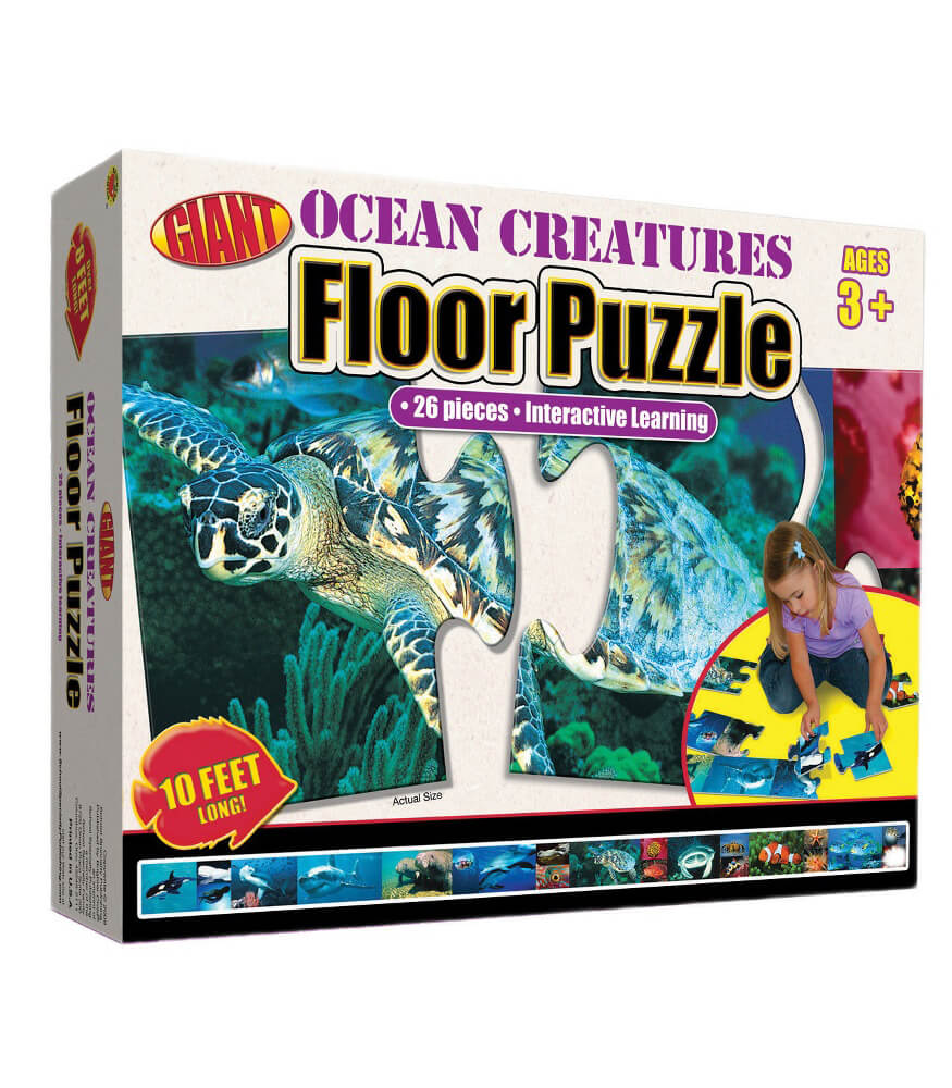 Ocean Creatures Floor Puzzle Floor Puzzle Product Image