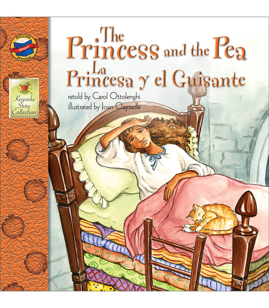 The Princess and the Pea Bilingual Storybook Product Image
