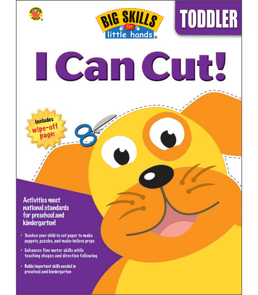 I Can Cut Workbook Grade Toddler | Carson-Dellosa Publishing