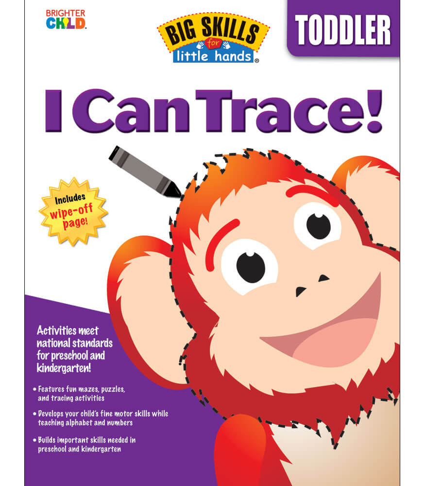 I Can Trace Workbook Product Image