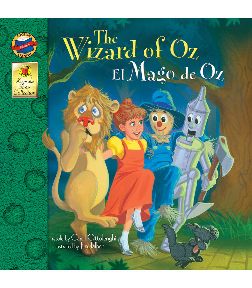 The Wizard of Oz Bilingual Storybook Product Image