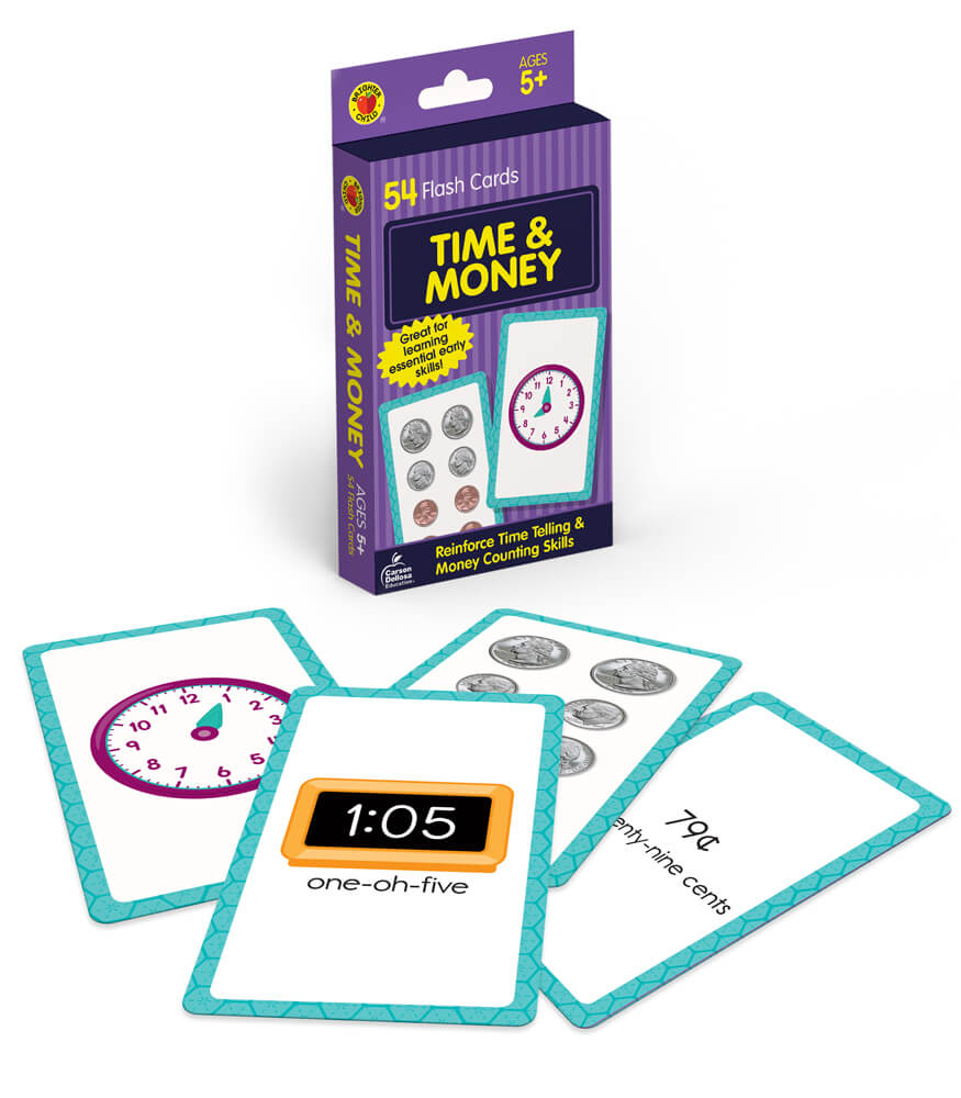 Time and Money Flash Cards Product Image