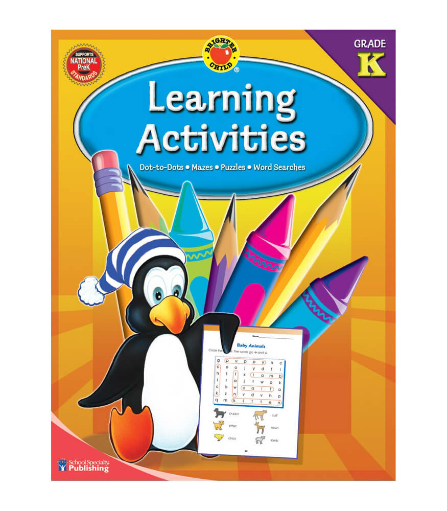 Learning Activities Workbook Product Image