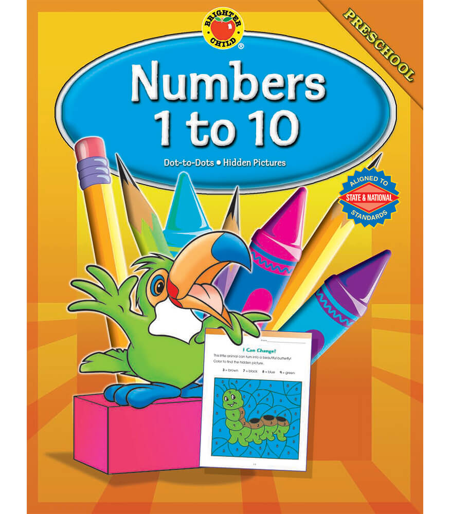 Numbers 1-10 Workbook