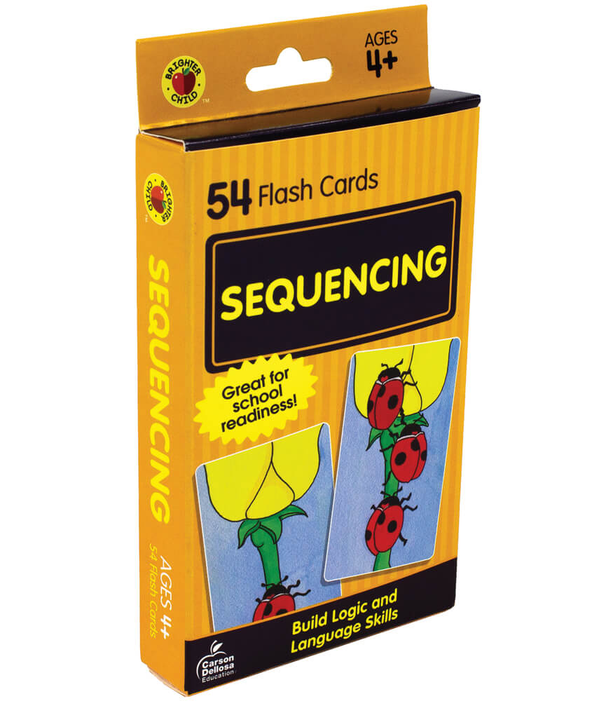 Sequencing Flash Cards Product Image