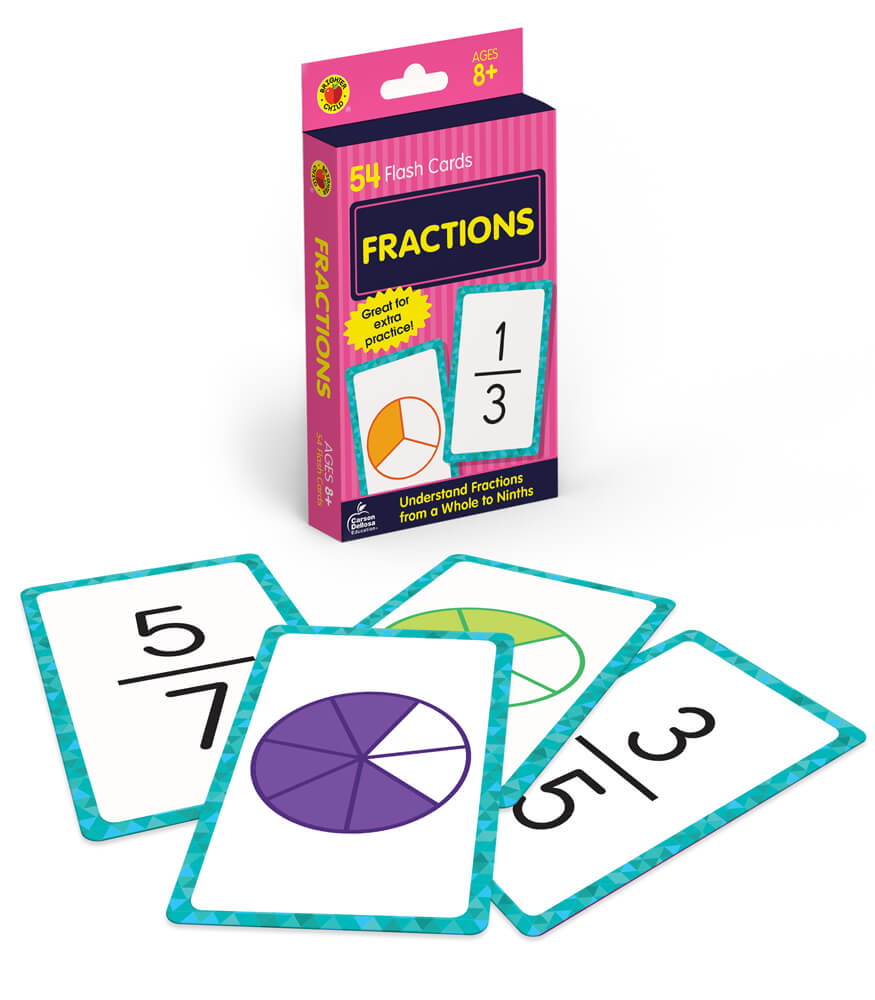 Fractions Flash Cards Product Image