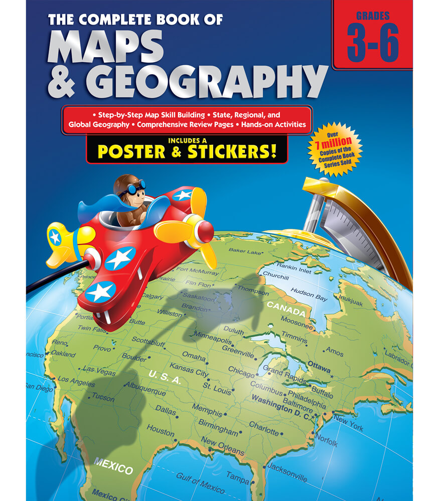 The Complete Book of Maps and Geography Workbook Product Image