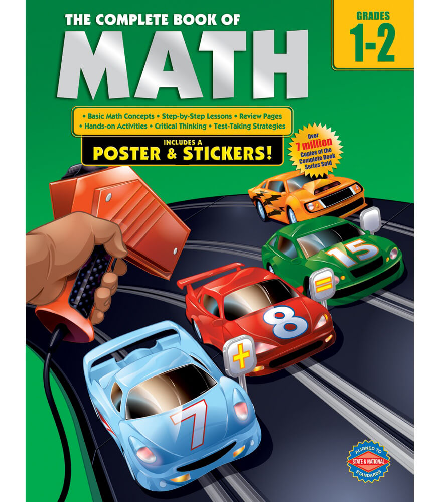 The Complete Book of Math Workbook Product Image