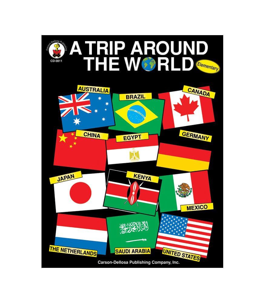 A Trip Around the World Resource Book Product Image