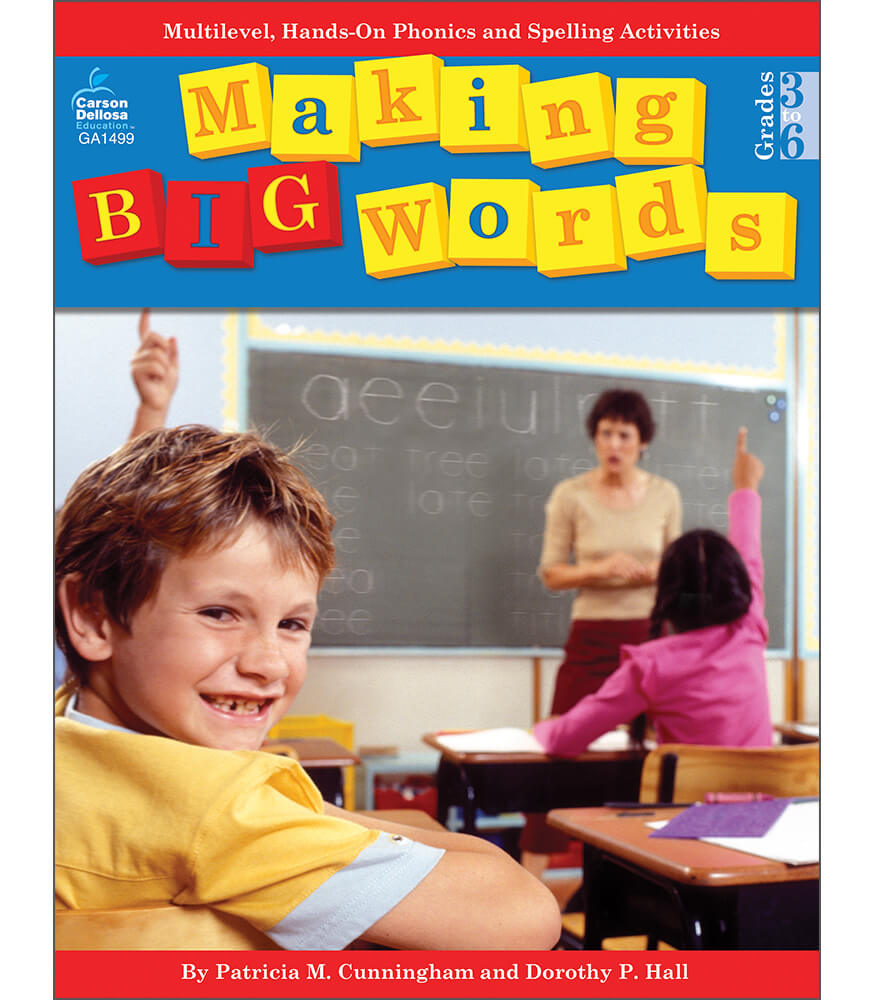 Making Big Words Resource Book Product Image