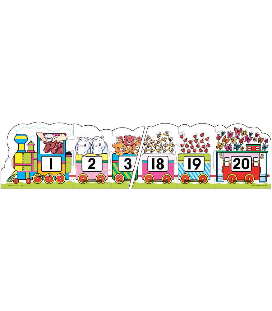 Number Train Floor Puzzle Product Image