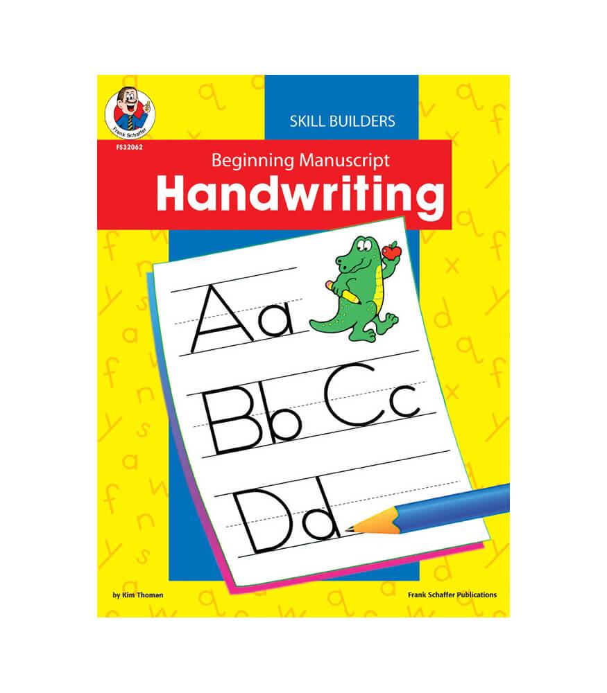 Beginning Manuscript Resource Book Product Image