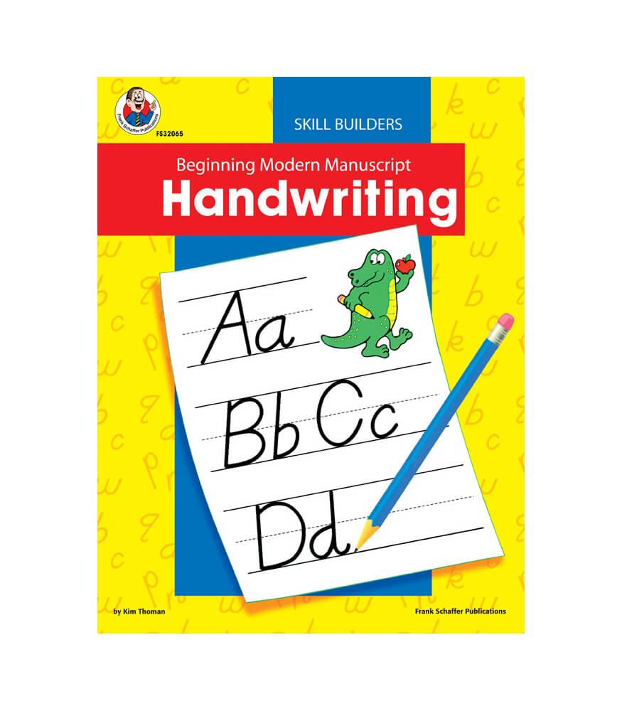 Workbooks bc science 10 workbook : Beginning Modern Manuscript Handwriting Skill Builder Workbook ...