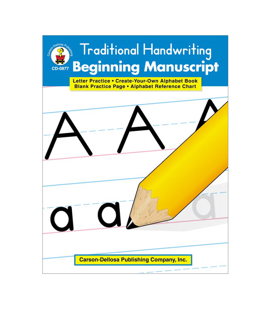 Traditional Handwriting: Beginning Manuscript Resource Book Product Image