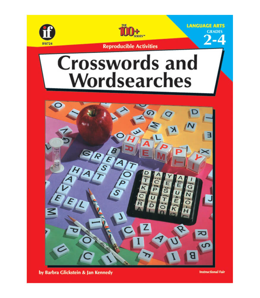 Crosswords and Wordsearches Resource Book Product Image