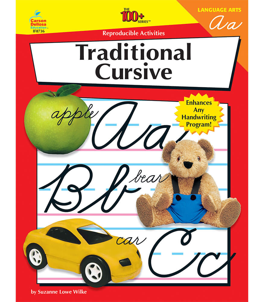 Cursive Writing Resource Book Product Image