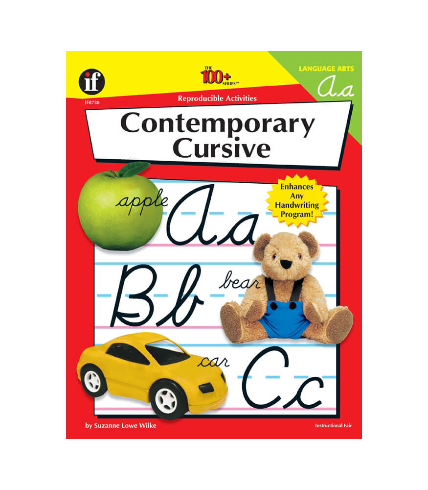 Contemporary Cursive Resource Book Product Image
