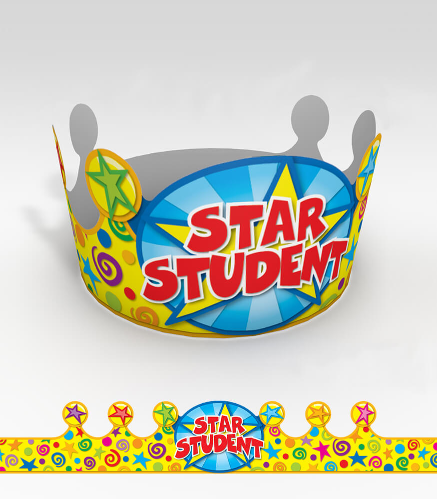 Star Student Crowns Product Image