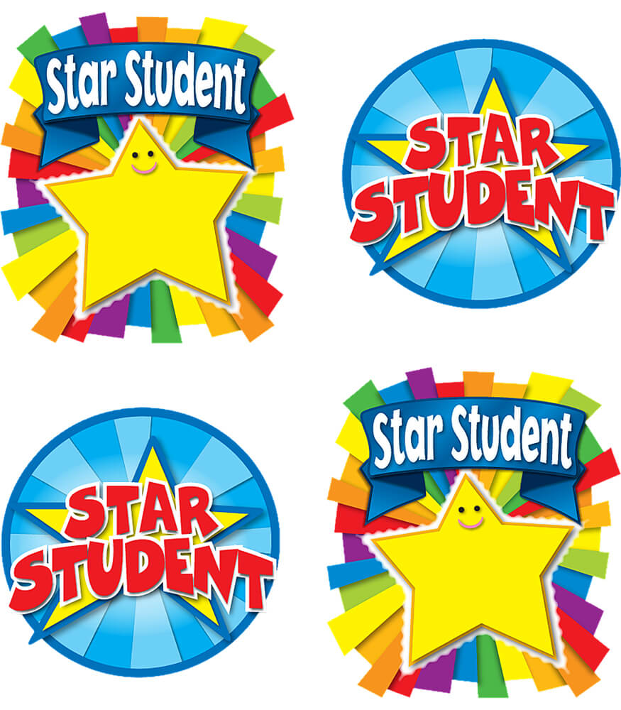 Star Student Temporary Tattoos Product Image