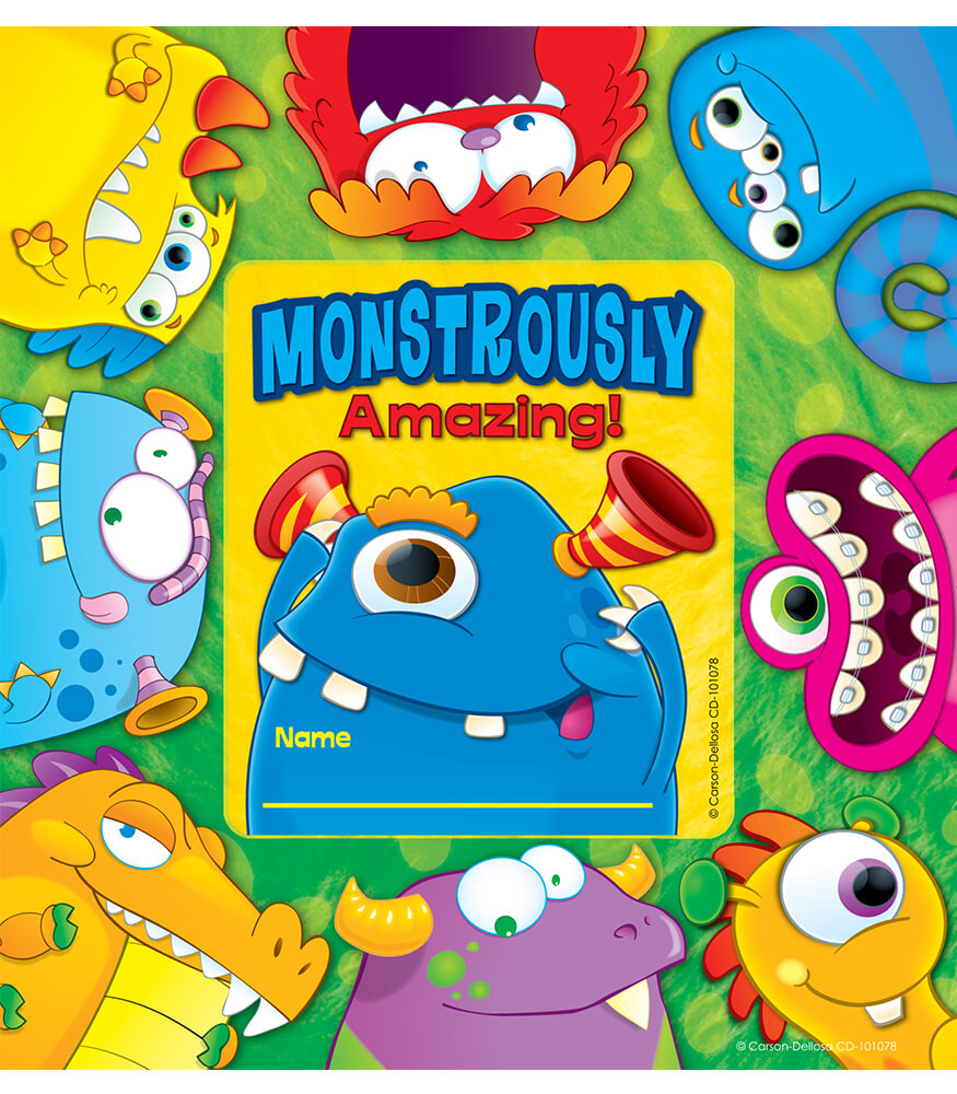 Monsters Framed Awards Product Image