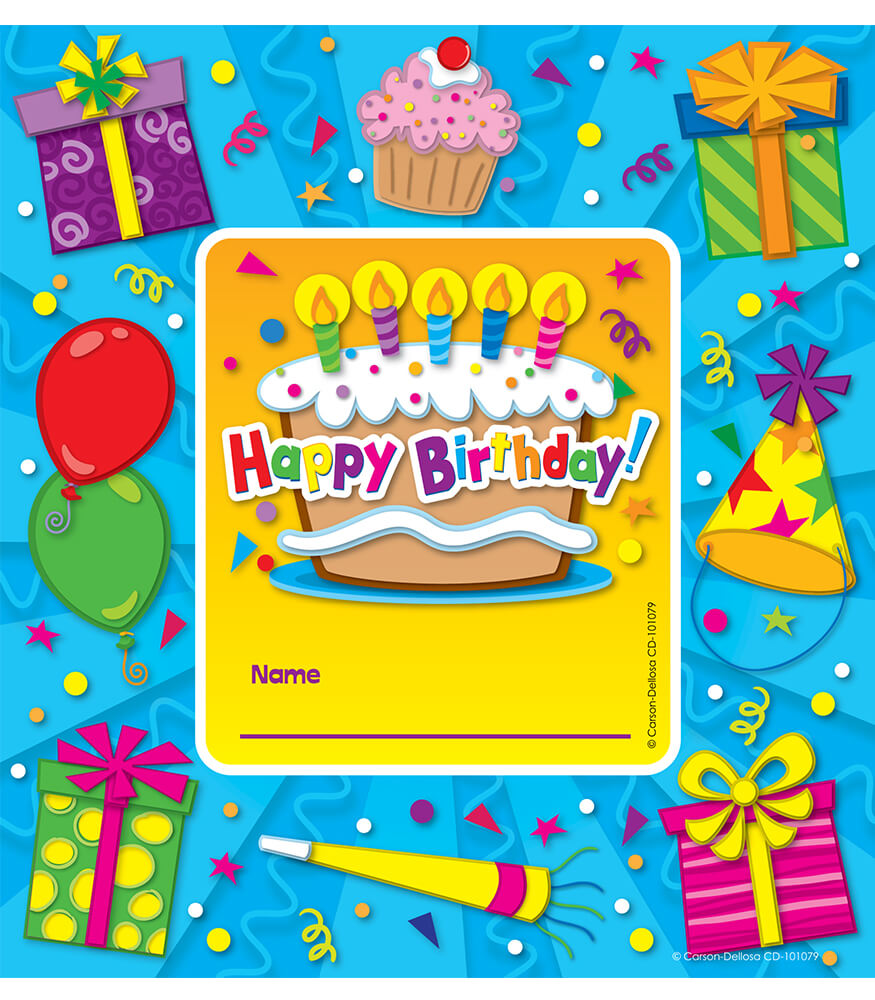 Happy Birthday Framed Awards Product Image