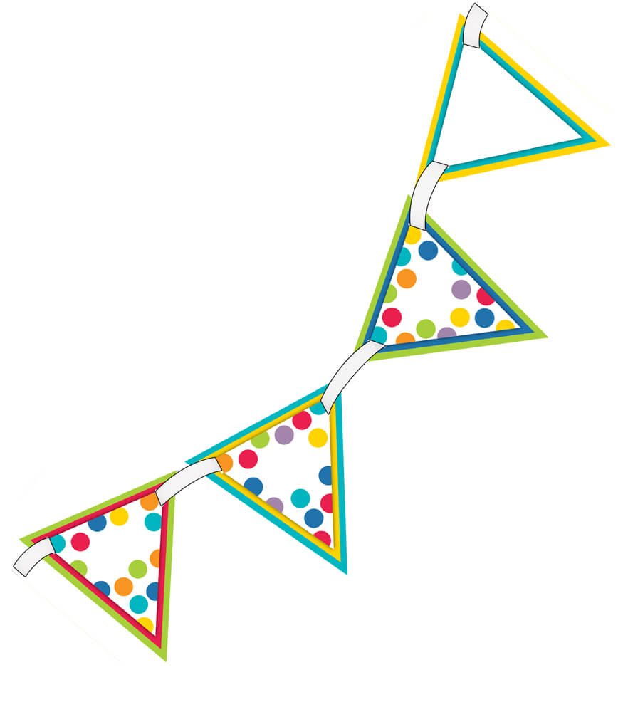 Color Me Bright Bunting Product Image