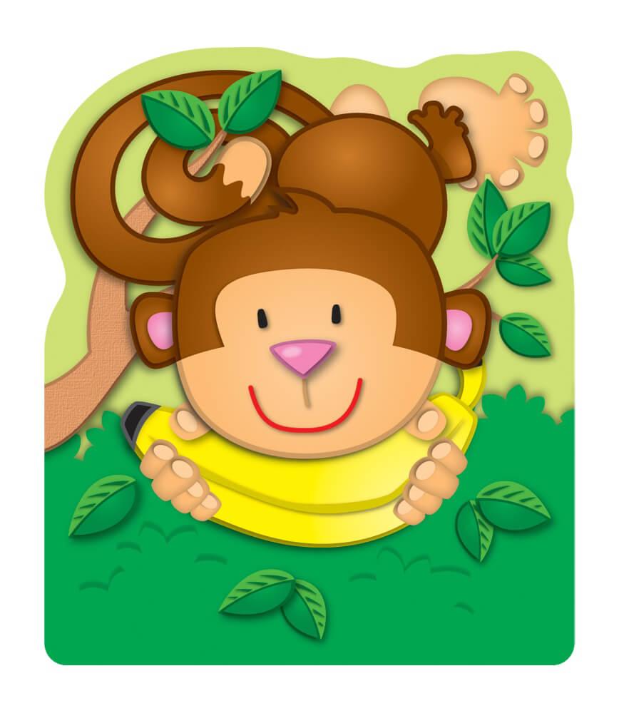 Monkey Bookmarks Product Image