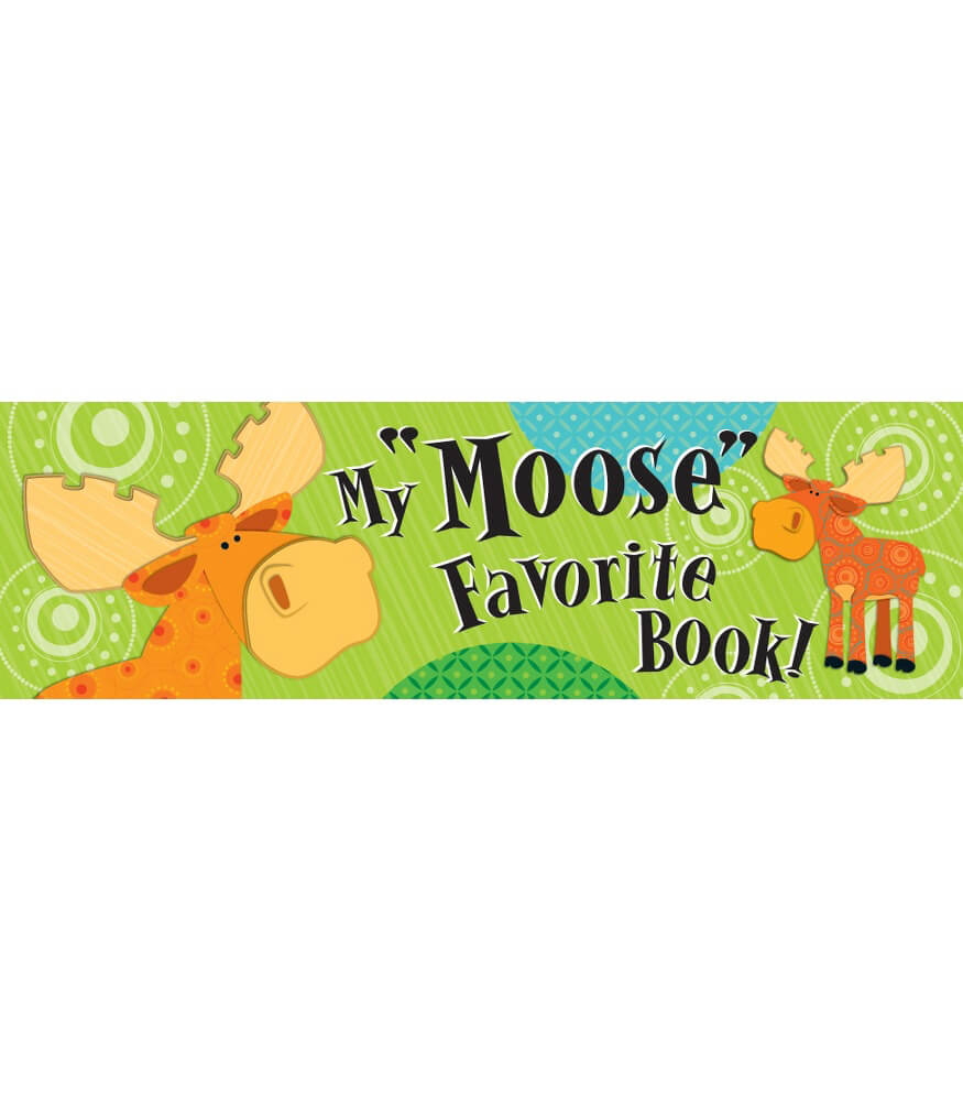 Moose & Friends Bookmarks Product Image