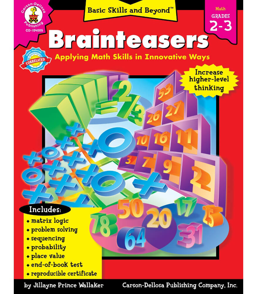 Brainteasers Resource Book Product Image