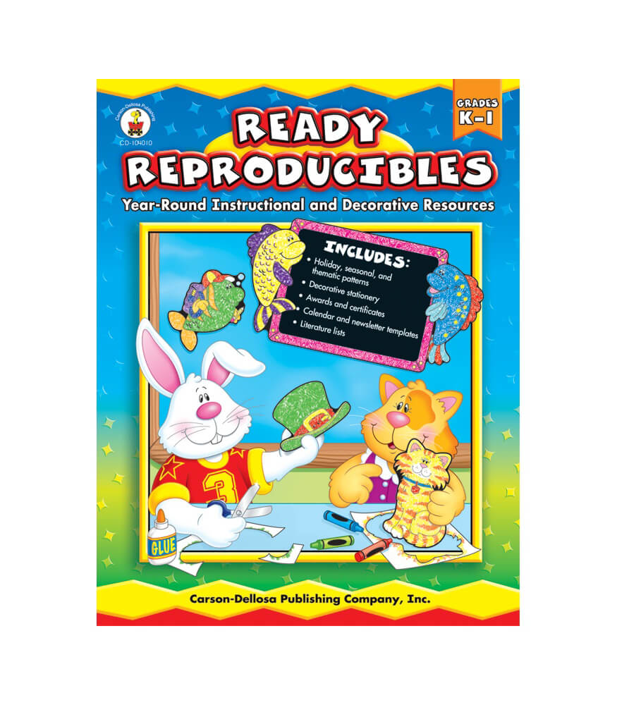Ready Reproducibles Resource Book Product Image