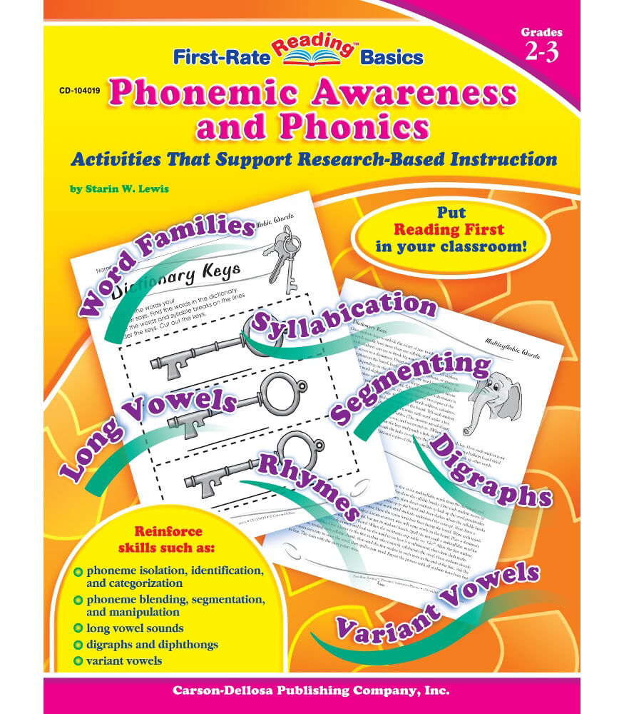 Phonemic Awareness and Phonics Resource Book Product Image