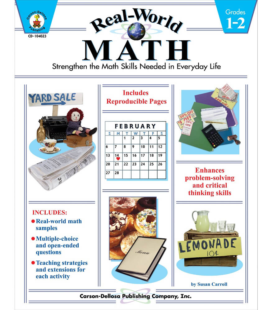 Real-World Math Resource Book Product Image