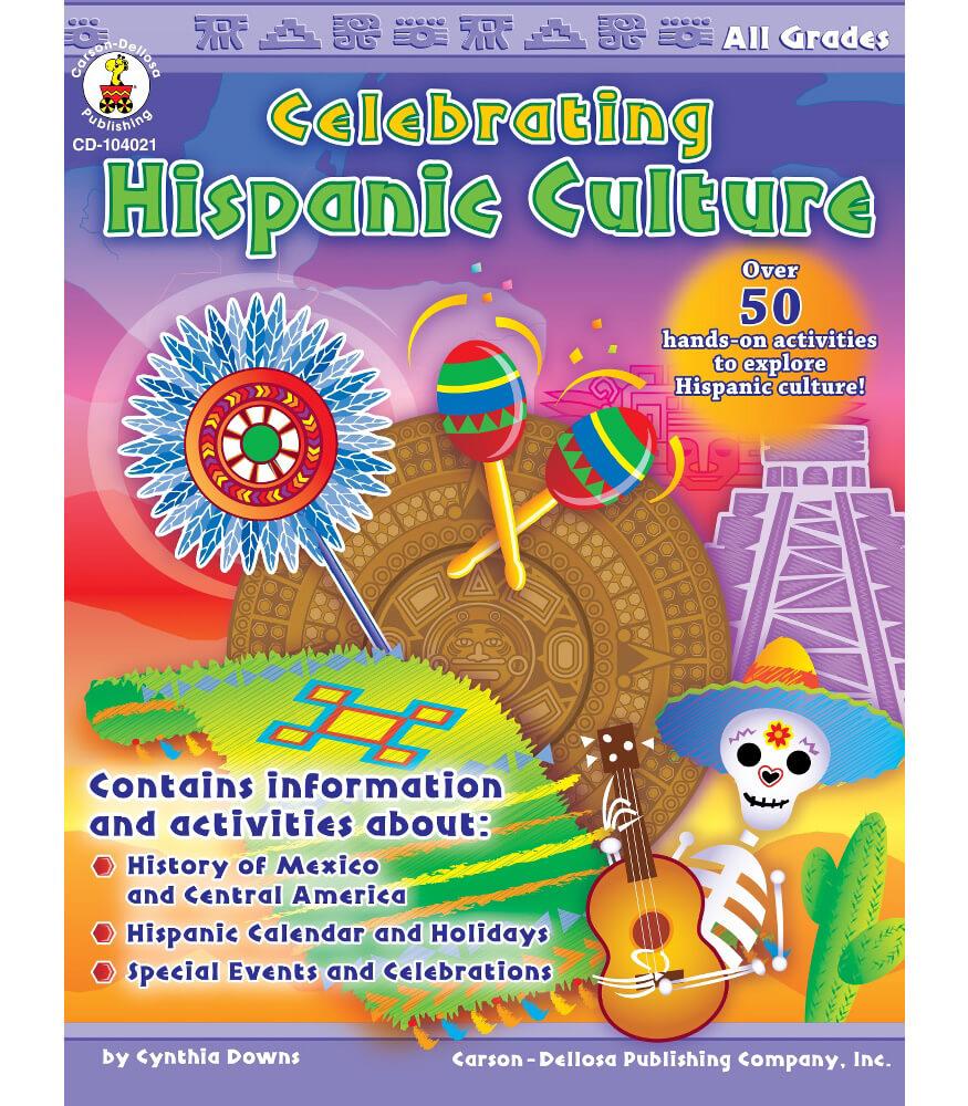 Celebrating Hispanic Culture Resource Book Product Image
