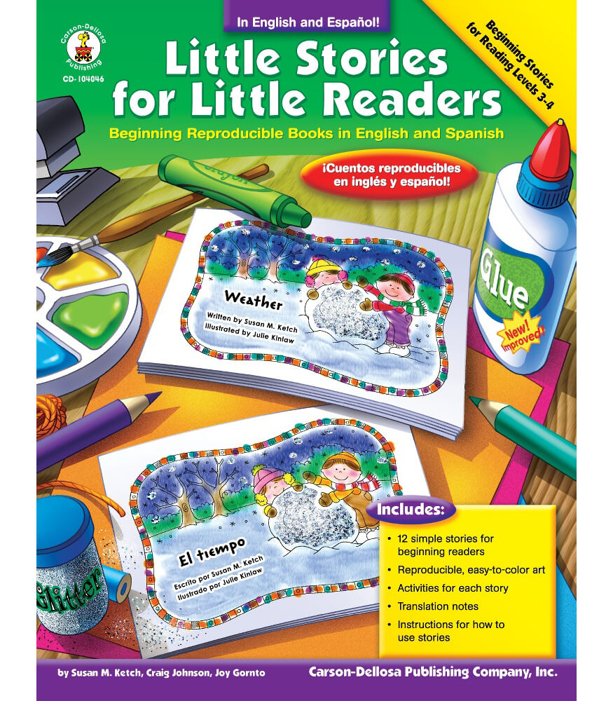 Little Stories for Little Readers Resource Book Product Image