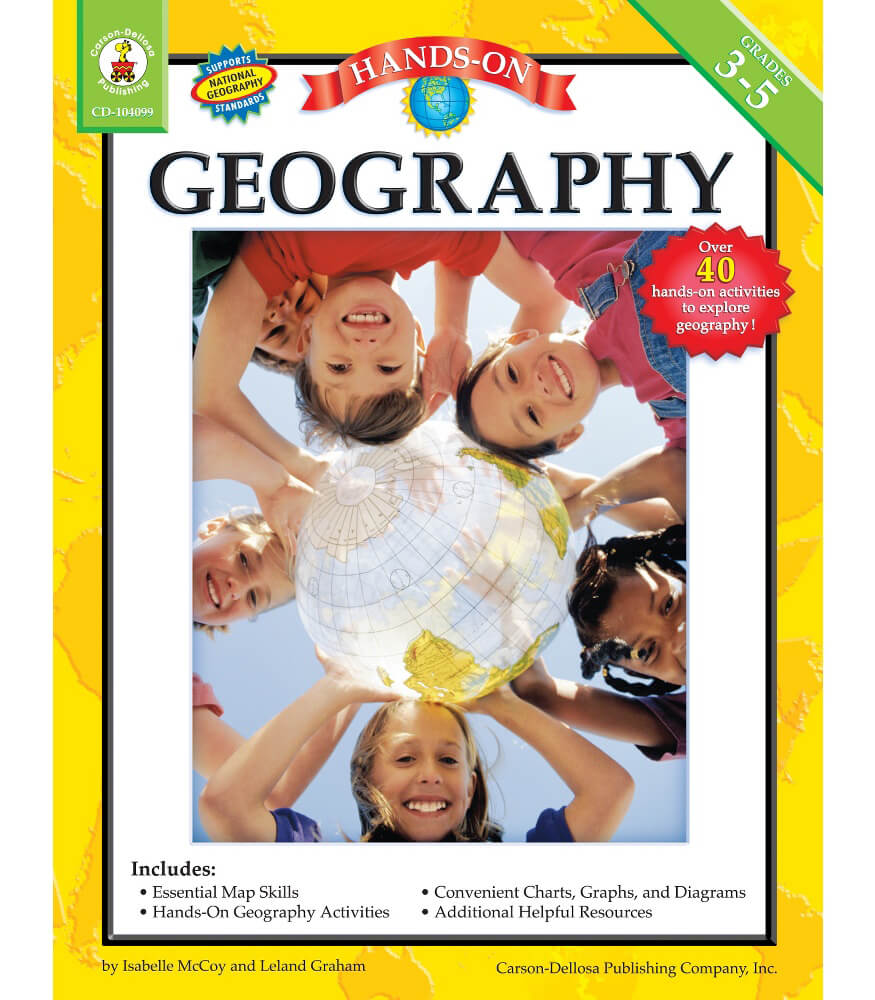 Hands-On Geography Resource Book Product Image