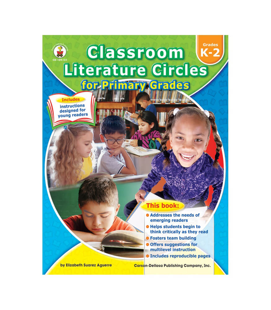 Classroom Literature Circles for Primary Grades Resource Book Product Image