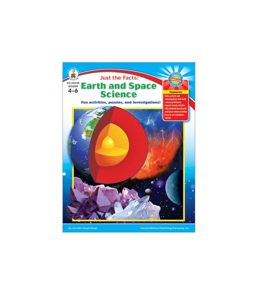 Just the Facts: Earth and Space Science Resource Book Product Image