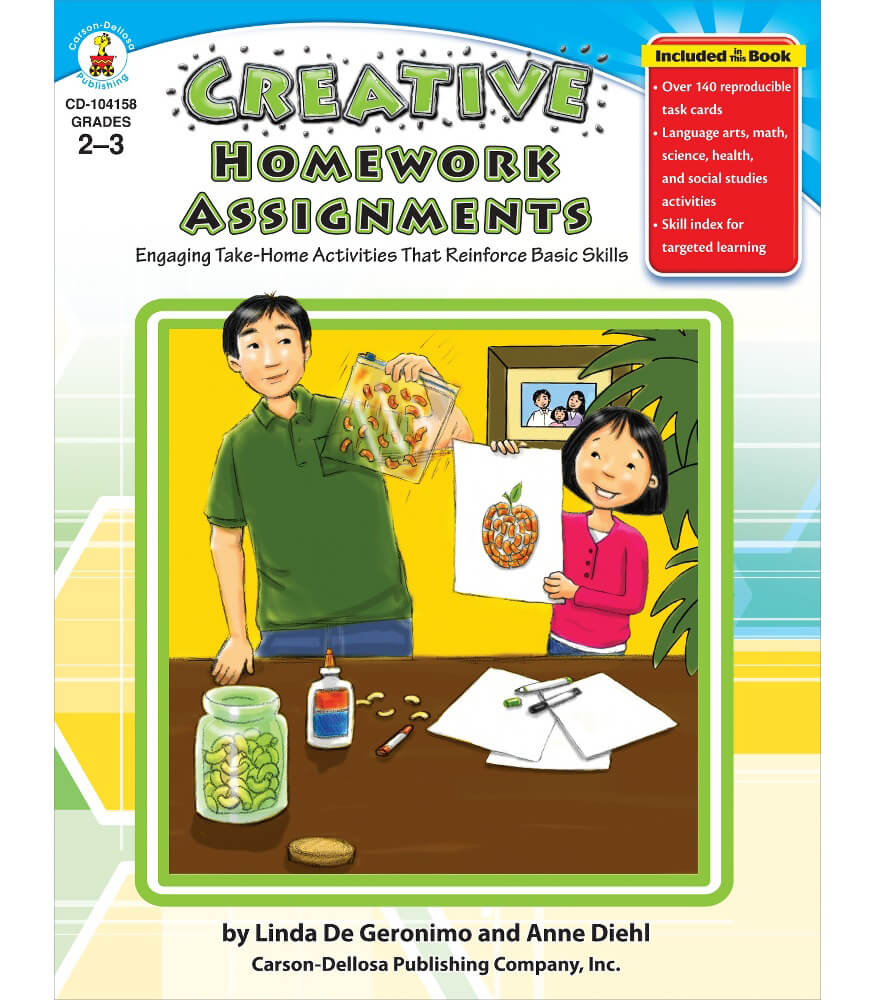 Creative Homework Assignments Resource Book Product Image