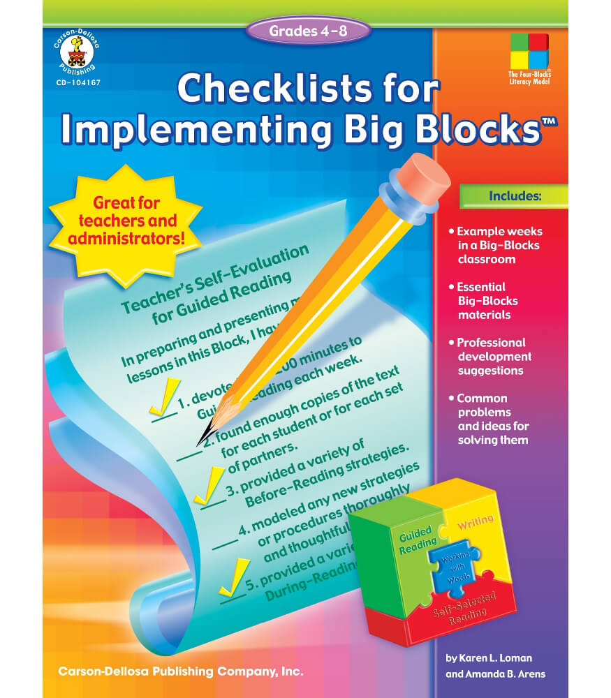 Checklists for Implementing Big Blocks™ Resource Book Product Image