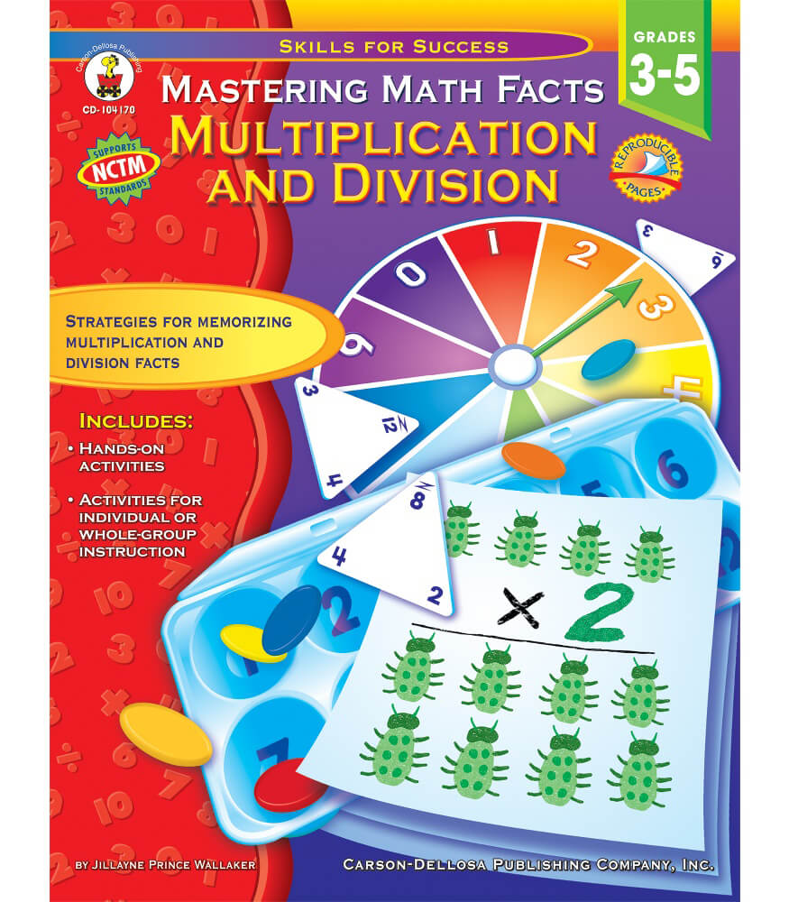 Mastering Math Facts Resource Book Product Image